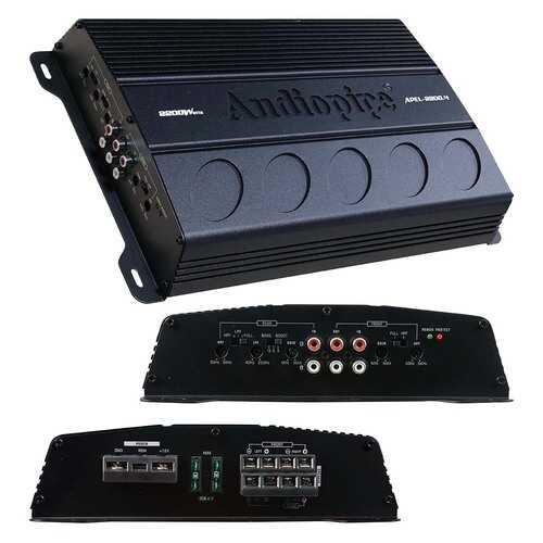 Audiopipe 4 Channel Amplifier 2200 Watts