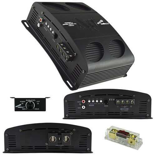 Audiopipe Class D Full Bridge High Power Amplifier 1500 Watts Mono 1 ohm Stable