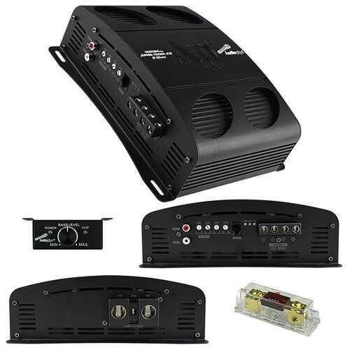 Audiopipe Class D Full Bridge High Power Amplifier 1500 Watts Mono 2 ohm Stable