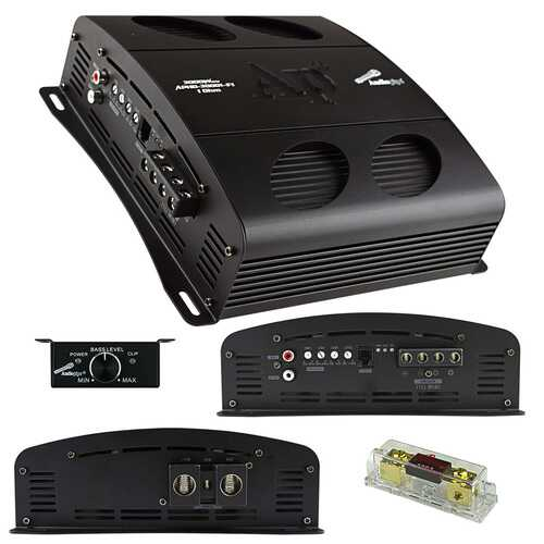 Audiopipe Class D Full Bridge High Power Amplifier 3000 Watts Mono 1 ohm Stable