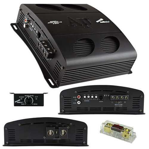 Audiopipe Class D Full Bridge High Power Amplifier 3000 Watts Mono 2 ohm Stable