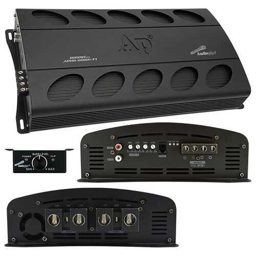 Audiopipe Class D Full Bridge High Power Amplifier 8000 Watts Mono 1 ohm Stable