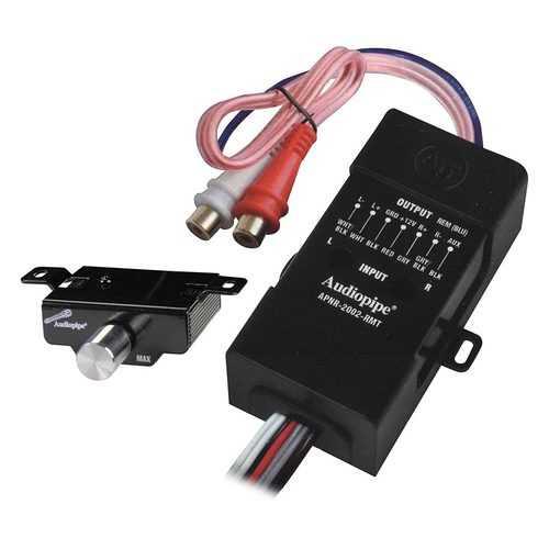 Audiopipe Hi-Low Converter with Remote Gain Control