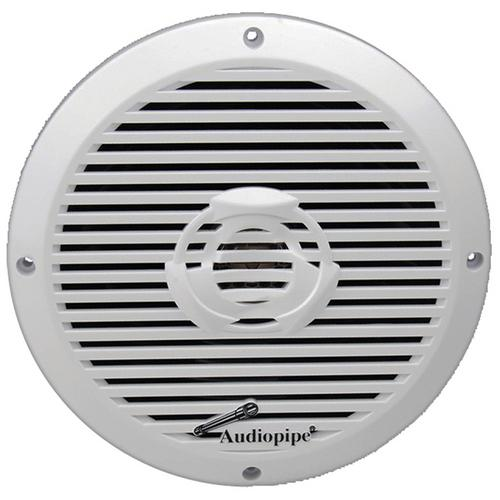 "Audiopipe(APSW8032T) 8"" 2-Way Coaxial Marine Speaker 350W White"