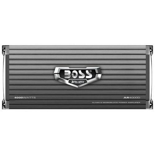 Boss Armor Class D Monoblock Amplifier 4000W Max