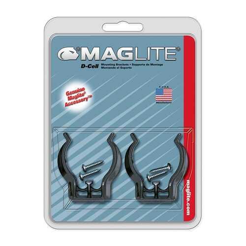 MAGLITE (D-Cell) Flashlight Universal Mounting Brackets