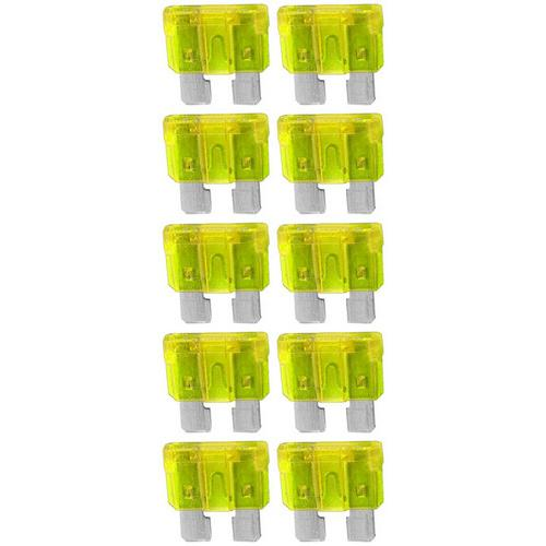 ATC FUSE 20 AMP; 10 PACK BLISTER; AUDIOPIPE *ATQ20A*