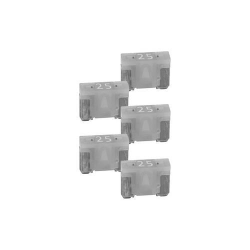 Audiopipe 25A Low Profile Mini Fuse 25 Pack