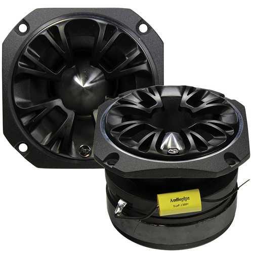 Audiopipe Black ATR series 600 watt max tweeter (each)