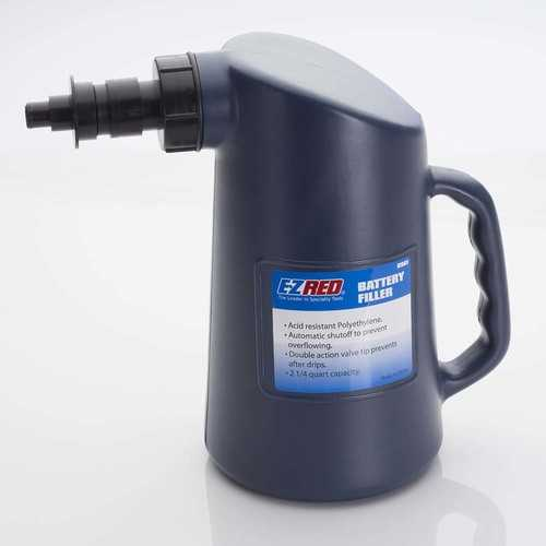 EZ RED 2 1/4 Quart Battery Filler