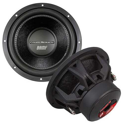 "Power Acoustik 12"" Sub Woofer Dual 2 ohm 3500 Watts Max"