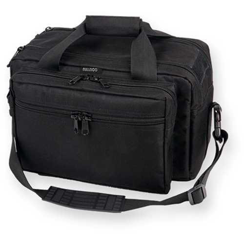 Bulldog Deluxe Range Bag with Pistol Rug (X-Large) - Black