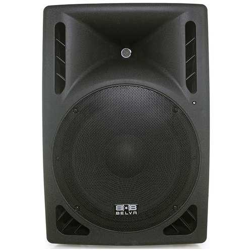 "Belva 15"" Amplified DJ Speaker 2-way 1200 Watts"