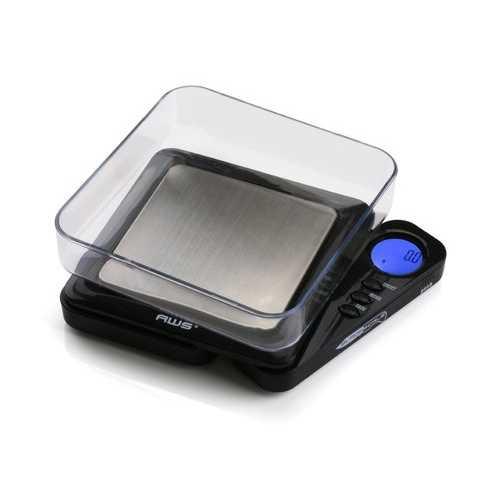 American Weigh Scales Black Blade Digital Pocket Scale BL-1KG-BLK 1000 by 0.1 G