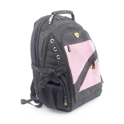 GuardDog ProShield 2 Bulletproof Backpack Multimedia Connections Enhanced Gel Comfort Pink