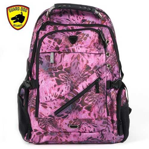 GuardDog ProShield 2 Prym1 Edition Bulletproof Backpack Multimedia Connect Gel Comfort Pinkout