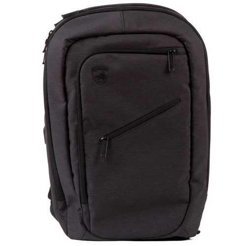 GuardDog ProShield Smart Bulletproof Backpack ChargeBank PhoneHolder Laptop Sleeve Black