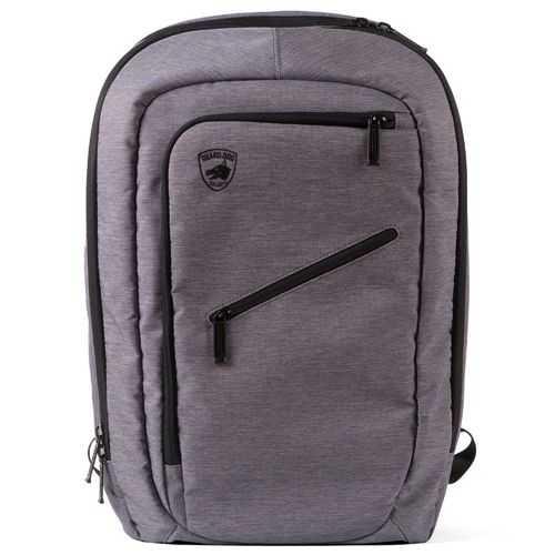 GuardDog ProShield Smart Bulletproof Backpack ChargeBank PhoneHolder Laptop Sleeve Grey
