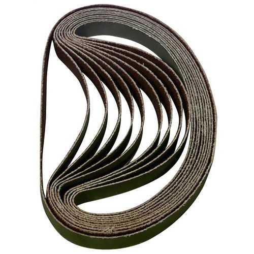 Astro BSP60 60Grit 3/8Inch by 13Inch Sanding Belt 10Piece
