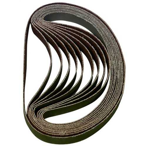 Astro BSP80 3/8In x 13In 80 Grit Sanding Belt Pack of 10