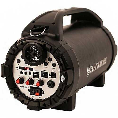 Blackmore 750 Watt Bluetooth Rechargeable Speaker Black