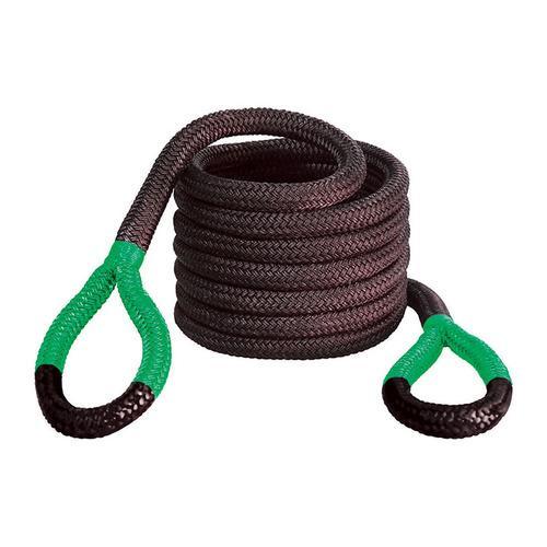 "Bubba Rope 1 1/2""x30' Jumbo Bubba Green Eyes Towing Rope"