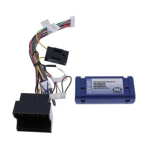 PAC Replacement Interface for select Volkswagon Vehicles