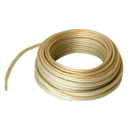 Audiopipe Clear Speaker Wire 18 Gauge 100 Foot