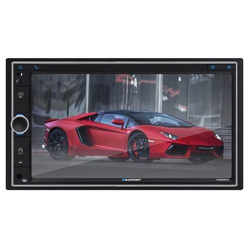 """Blaupunkt 6.9"""" Double DIN Touchscreen Receiver with Bluetooth and USB/SD Inputs"""