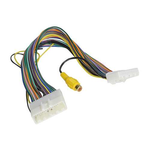"""PAC Wire Harness to add Reverse Camera Select '10-'17 Nissan with 4.3"""" Factory Display"""