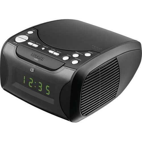 GPX CC314B Audio Alarm Clock with CD AMFM and USB