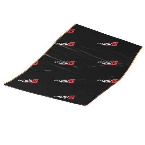 "Cerwin Vega Vega Bassmat door kit Four 18"" x 31.5"" sheets black"