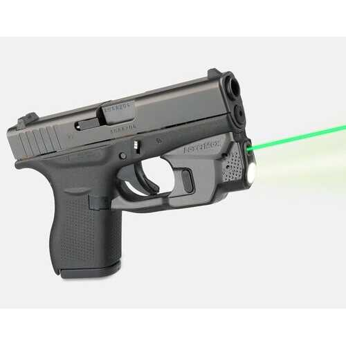 Lasermax Centerfire Laser Green - For Glock 42 43 43X and 48 pistols