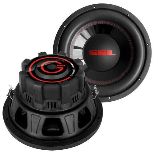 "Soundstorm Charge 10"" 1000 Watt 4 ohm DVC"
