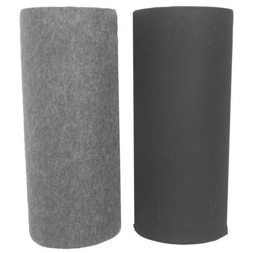 Qpower carpet charcoal 4 ft x 50 yd