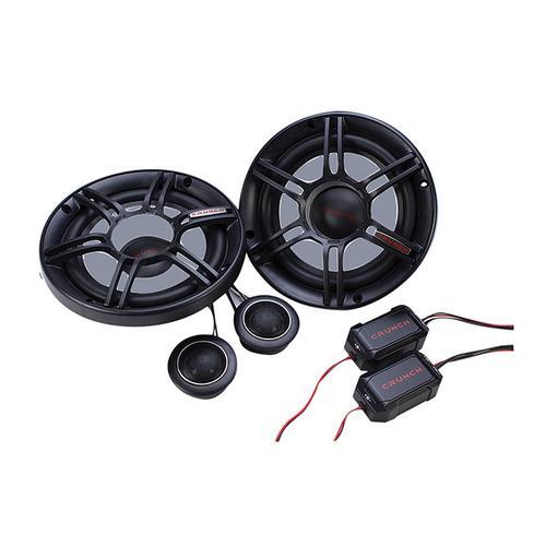 """Crunch 6.5"""" 2-Way Component Speaker 300w Max"""