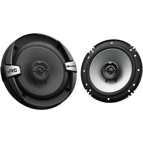 """JVC DR Series 6.5"""" 2-Way Coaxial 300W Max Power Car Speakers"""