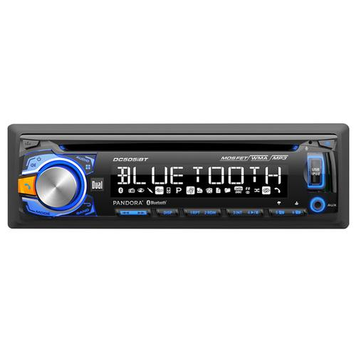 Dual CD Receiver w Built-in BT Direct USB Controls for Ipod/Iphone/Pandora