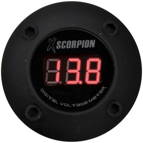 XSCORPION VOLTMETER DIGITAL 3 DIGIT LED DISPLAY BLACK