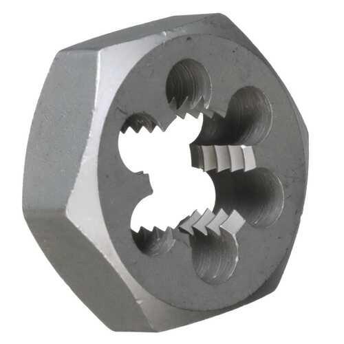 DRILL AMERICA m27 X 1.5 Carbon Steel Metric Hex Die