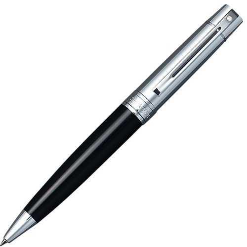 Cross Sheaffer 300 Glossy Black Barrel Ballpoint Pen