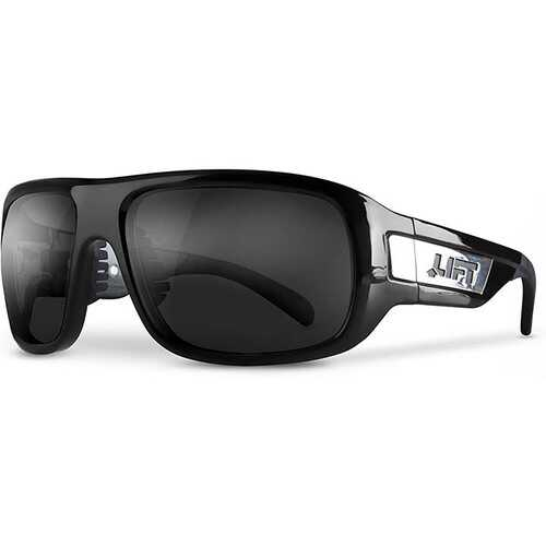 Lift Safety BOLD Safety Glasses Black/Smoke