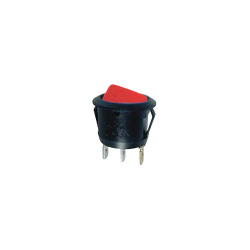 SWITCH ROUND ROCKER W/RED LED 10 PACK