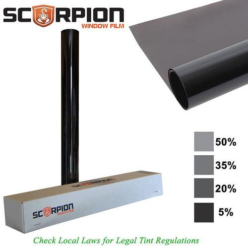 "Scorpion Window Tint Entro Series 1 ply 20% 36"" x 100' roll"