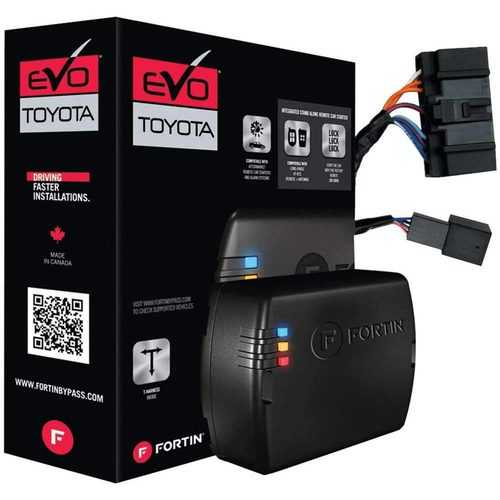Fortin Remote Start Module & T-Harness for '18 - '21 Toyota & Lexus PTS