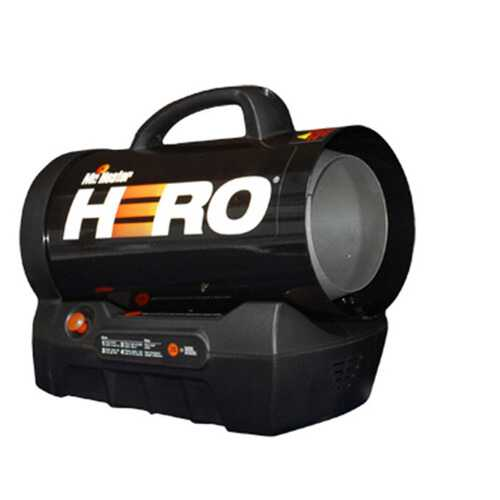 Mr Heater Hero Forced Air Propane Heater 35000 BTU Hr
