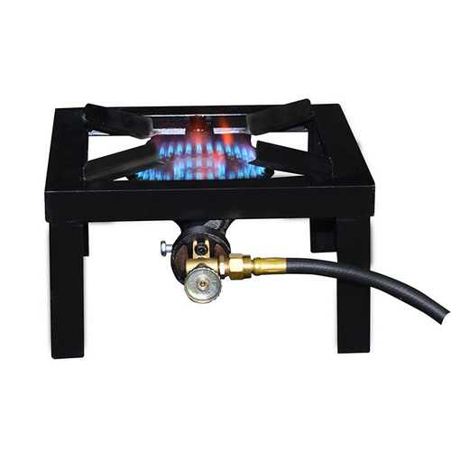 Base Camp 1 Burner Angle Iron Stove 15000 BTU