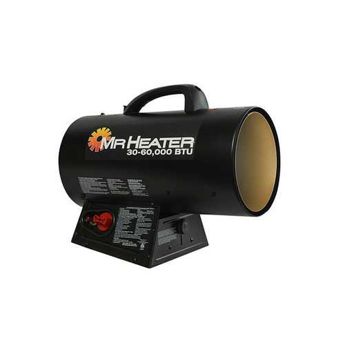 Mr Heater Forced Air Propane Heater 30000 - 60000 BTU Hr