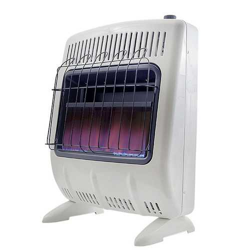 Mr Heater Blue Flame 20000 BTU Natural Gas Vent Free heater