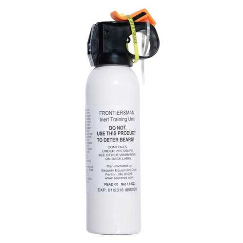 Frontiersman 7.9 oz Practice Bear Spray